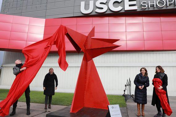 Beograd dobio prvu skulpturu ženske hrabrosti